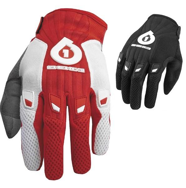 SixSixOne COMP Full Finger MTB Mountain Bike Gloves YELLOW SCRIPT