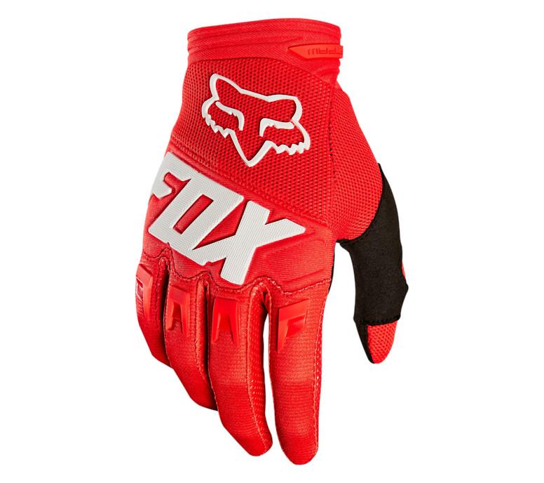2019 Fox Racing Dirtpaw Race Gloves-Light Grey-M