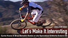 Specialized S-Works Enduro 29 Trail Battles - Let's Make It Interesting