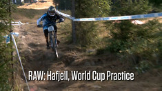 RAW: Hafjell World Cup DH Action