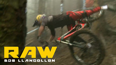 Vital RAW - British Downhill Series, Llangollen Practice Carnage