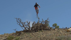 Paul Basagoitia Boosting on His New Trail