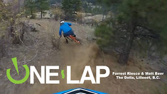 ONE LAP - The Della in Lillooet, B.C. with Forrest Riesco and Matt Beer