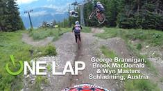 ONE LAP - George Brannigan, Brook MacDonald & Wyn Masters, Schladming, Austria