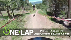 ONE LAP - ProGRT Angel Fire with Luca Cometti and Lucas Cowan