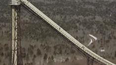 Sammy C Hits Huge Ski-Flying Ramp Switch