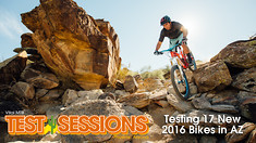 2016 Vital MTB Trail Bike Test Sessions