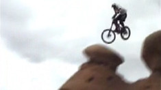 12-inches of Travel with 24-inch Wheels in Moab - Canfield and Krispy, 2001
