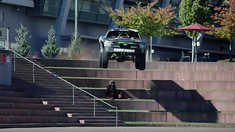 Hucking Stairs to Flat in Your Trophy Truck