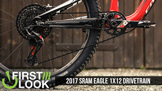 First Look, First Ride: SRAM Eagle 1x12 Drivetrain | The Front Derailleur Killer