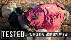 Tested: Source Hipster Hydration Belt System