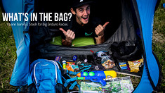 What's in the Bag? Yoann Barelli's Stash for Big Enduro Races