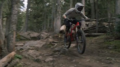 I'm Happiest When I'm Moving - Macky Franklin at Angel Fire Bike Park