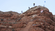 HOW BIG?! Riders Test Lines and Send Gaps at Rampage
