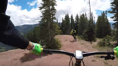 Mountain Biking Teocalli Ridge in Crested Butte