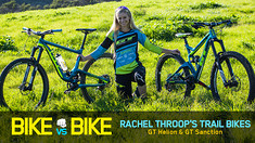 Bike vs. Bike - Rachel Throop's GT Sanction & GT Helion