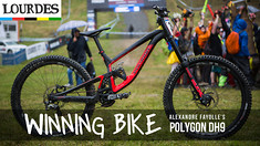 WINNING BIKE - Alexandre Fayolle's Polygon DH9