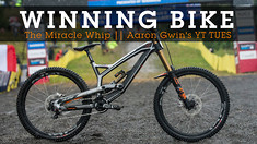 WINNING BIKE - Aaron Gwin's YT TUES