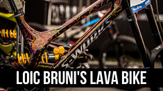 Loic Bruni Has Another New Demo! The Lava Bike