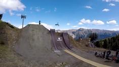 Nicholi Rogatkin Lands Twister on His DH Bike