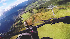 How to Fly ON Your Mountain Bike!