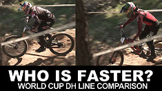 WHO IS FASTER? Losinj, Croatia World Cup DH Line Comparisons