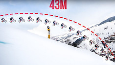 Longest MTB Jump Ever? 43 meters / 141 feet with Fabio Wibmer