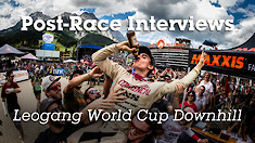 Post-Race Interviews, Leogang World Cup DH