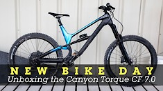 NEW BIKE DAY! Unboxing the $4,000 Canyon Torque CF 7.0