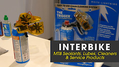 Tubeless Tire Sealants, Lubes, Cleaners & Service Products - Interbike 2018