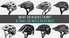 What Do Riders Think? Eight Trail Helmets Reviewed by Vital MTB Members