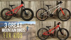 3 Great 20-inch Mountain Bikes for Kids