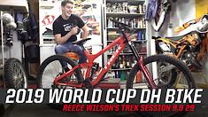 2019 World Cup DH Bike - Reece Wilson's Trek Session 9.9 29
