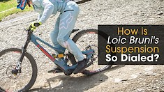 How is Loic Bruni's Suspension So Dialed?