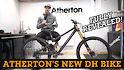 FINALLY! Atherton's New Downhill Bike Fully Revealed