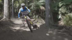 There's Only One Foot-Out Turn By Sam Hill, But It's Pretty Good