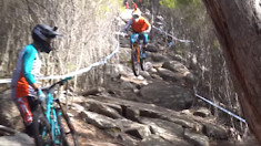 Rock Smashing and Body Hurling Enduro Goodness from Tasmania