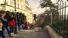 Insane Stairgap with Fabio Wibmer in Paris