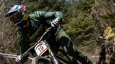 Action from UK Downhill Series Rd 1 at Rheola