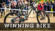 WINNING BIKE - Loic Bruni's Prototype Specialized Demo