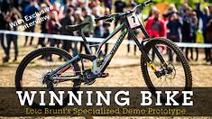 WINNING BIKE - Loic Bruni's Prototype Specialized Demo