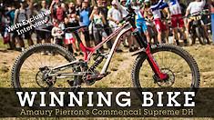 WINNING BIKE - Amaury Pierron's Commencal Supreme DH