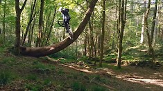 Kriss Kyle Brings His BMX Style to MTB