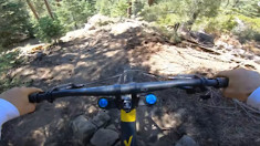 Snow Summit's New Double Black DH Trail with Dylan Stark