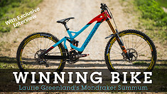 WINNING BIKE - Laurie Greenland's Mondraker Summum 29 / 27.5