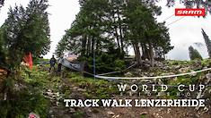 Track Walk Slideshow - 2019 Lenzerheide World Cup Downhill