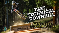 iXS Downhill Cup Race Action Video from Spicak