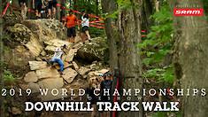 SLIDESHOW - World Champs DH Track Walk