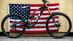 GT Bicycles World Championships DH Race Bikes