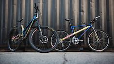 1993 Norco Vipor ZTS High Pivot vs. 2019 Norco Aurum HSP Downhill Bike